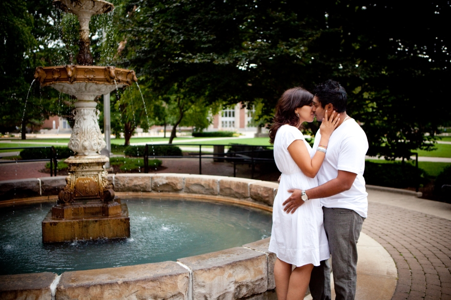 West Lafayette Engagement Photographer